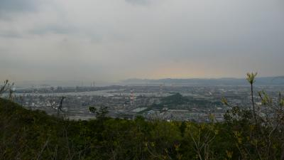 鷲羽山スカイラインと水島工業地帯