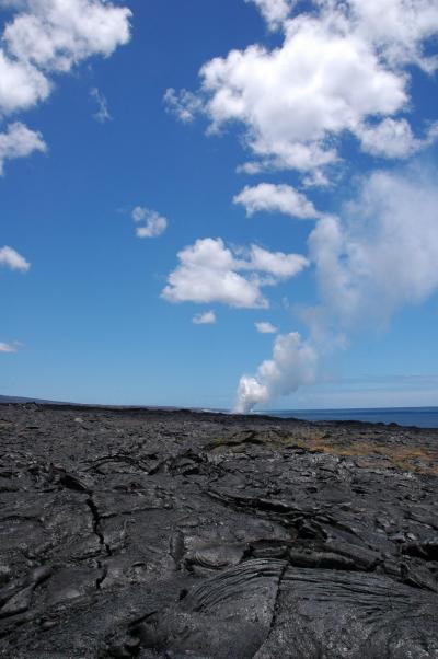 ハワイ島★ドライブ ?熱き溶岩CHAIN OF CRATERS RD.編