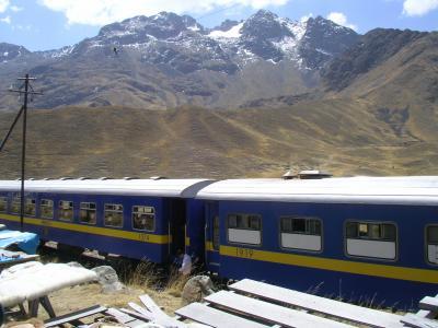 ペルー旅行4 高山列車でプーノへ