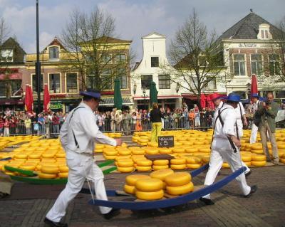 最高、春のヨーロッパ!! アルクマール(オランダ)