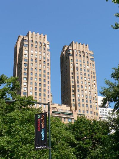 ニューヨークのアール・デコ建築 その5 セントラルパーク ウェスト