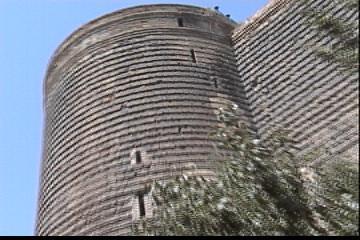 Azerbaijan バクー城壁と石畳の町(1)