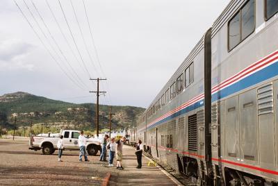 アメリカ鉄道縦断の旅 5日目 (Southwest Chife)
