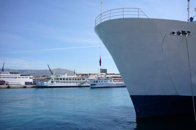 コルチュラ島まで船の旅