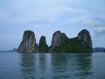 【ベトナム/Vietnam】 ハロン湾(海の桂林)/Ha long