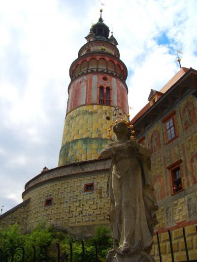 プラハ 2006 (10)チェスキー・クルムロフで熊を見た