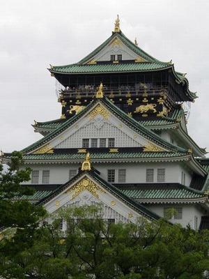 初大阪城!!