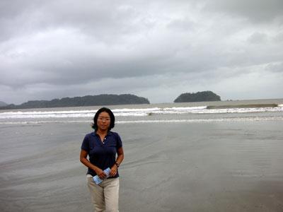 ニコヤ半島は雨期