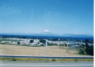サンディアゴからカラファテまでのバス旅行