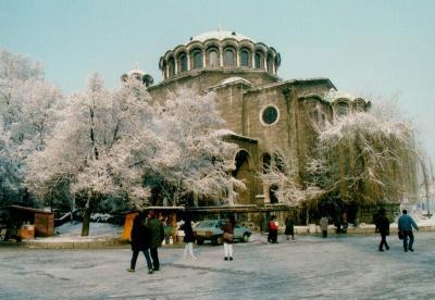 ブルガリア、ソフィアの冬1996