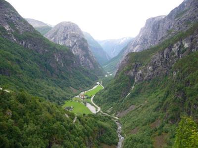 ノルウェー一人旅2006前編 ソグネフィヨルドとヴォス散策