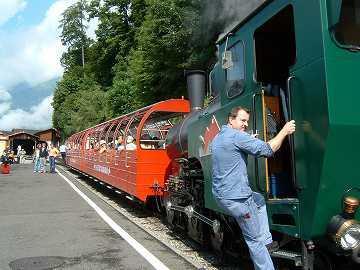 スイス旅行記05:ブリエンツ・ロートホルンと蒸気機関車