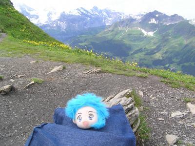 スイス一人旅