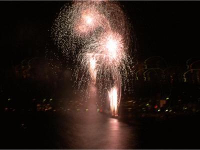 リゾーピア熱海に泊まって熱海会場花火大会見物