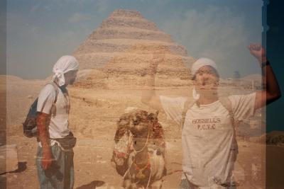 世界一周旅行 エジプト  世界の7不思議を見る
