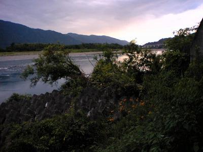 吉野川ルート 県道ルート12号:断層露出箇所