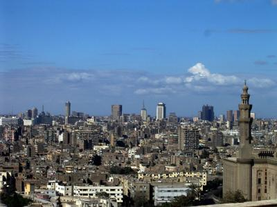 エジプト (カイロ、ルクソール) 6日間の旅 (2) ナイル川岸辺散歩とガーマ・ムハンマド・アリ
