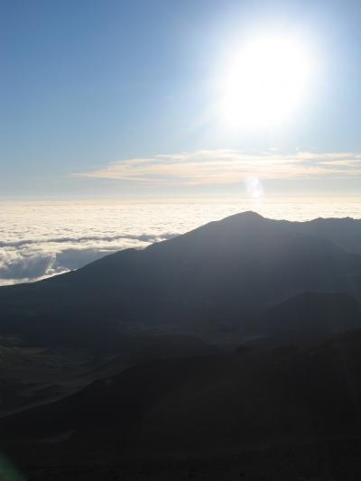 ハワイ2006-3 Maui -2  ハレアカラ山のトレッキング ☆ Star and Sunrise Trek
