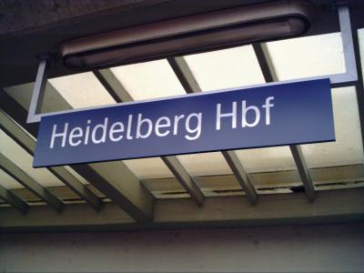 一週間のドイツ旅行最初はハイデルベルク