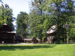 チェコ東部ロジュノフの民俗博物館