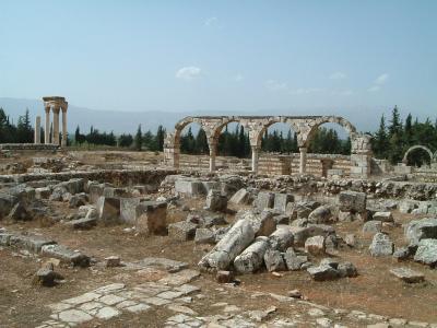 2006GW シリア・ヨルダン・レバノン旅行記3(アンジャール)