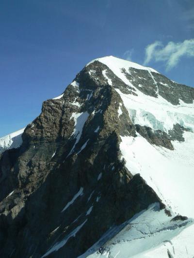 スイス旅行ハイライト写真速報【36a】好奇心ばかり先立ち息が切れるユングフラウヨッホ