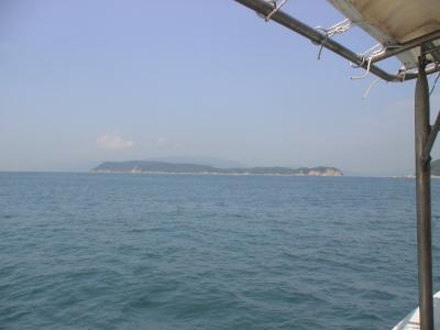 初めての無人島