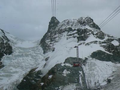 マッターホルン・グレイシャー・パラダイス ロープウェイで氷河を越えて(2006お急ぎ7カ国?旅行27)