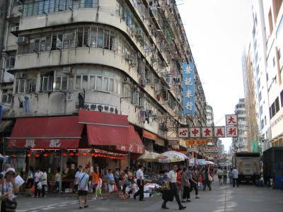 2006年08月、またも香港。(深水歩の基隆街)