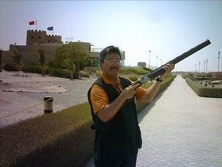 クレー射撃atドバイ