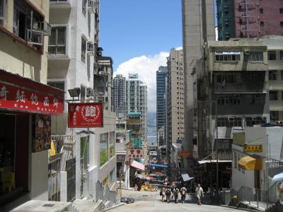 2006年08月、またも香港。(正街の風景)
