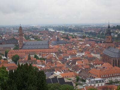 ハイデルベルグ - 誰もが知っている学生の街
