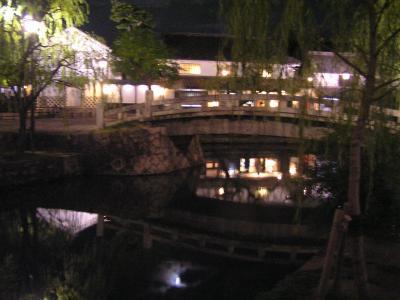 夜の倉敷探訪:美観地区のライトアップと美食を中心に
