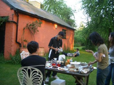 BBQ in Manor Farm
