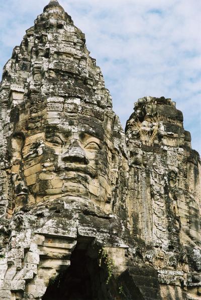 01. アンコール遺跡群。まずは、Bayon、Angkor Wat、Phnom Bakheng