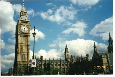 初めてのロンドン/ヨーロッパ