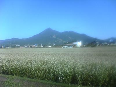 朝の猪苗代湖~お昼の磐梯山
