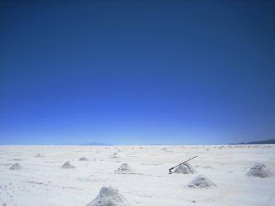 ウユニ塩湖~!!
