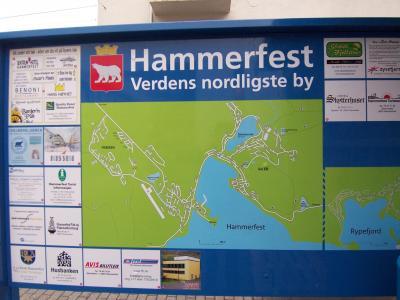 ハンメルフェスト(2006.09.18 5:15AM)に到着