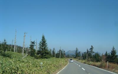 初秋の志賀高原