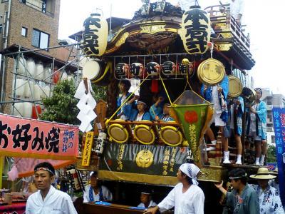 熊谷 うちわ祭