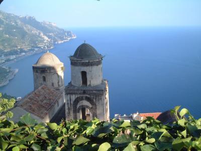 海を見下ろす街 ラヴェッロ