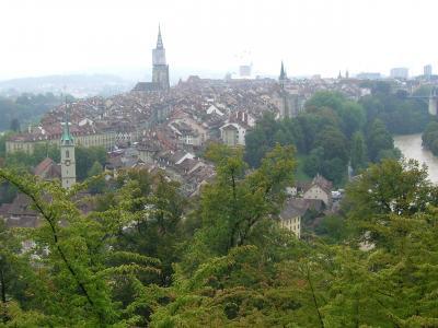 スイス鉄道の旅(★世界文化遺産:ベルン Bern)