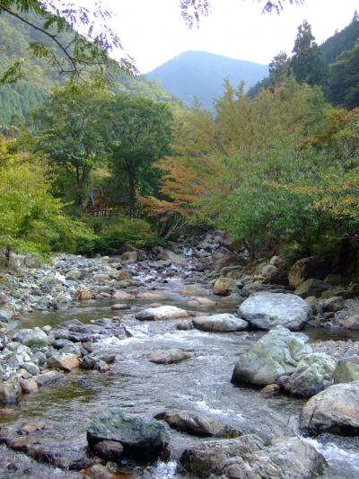 播磨国一宮と福知渓谷