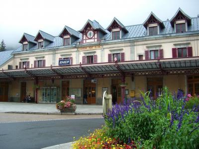 スイス鉄道の旅( フランス :シャモニー Chamonix)