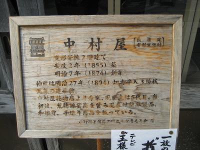 2006年10月、小江戸佐原をぶらぶら(その3:小野川南側)