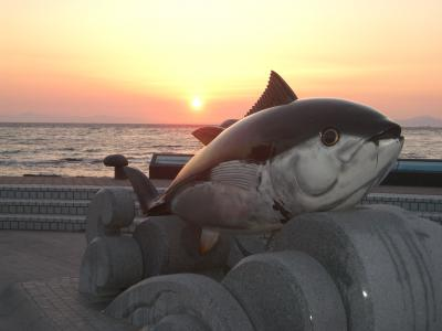 '06 GW みちのくウォーキング(4日目後編:本州最北端に沈む夕陽)