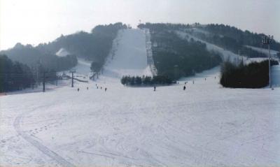 スキー遠征 Part? 1994年 韓国・龍平リゾート編