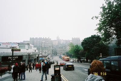 ロンドン・ヨーク・エジンバラ列車の旅(エジンバラ編1日目)