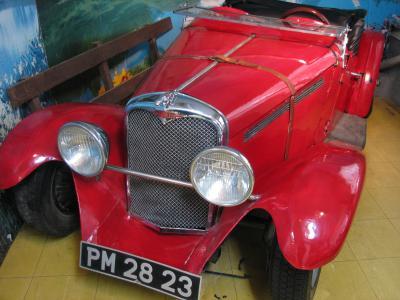 湯布院の車博物館